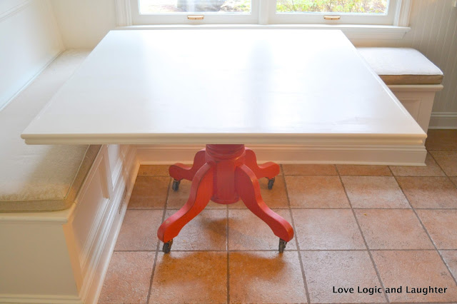 Repurposing And Building A Kitchen Table Diy Square